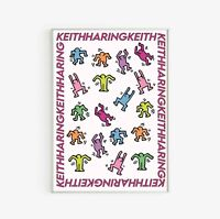 Keith Haring Illustration Art Exhibition Poster Vintage Art Poster Print