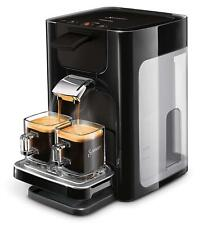 Philips Senseo Quadrante Kaffeepadmaschine Espresso Kaffee Edelstahl Schwarz NEU