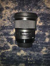 Used Sigma 50mm f/1.4 HSM DG Art Lens for Canon EF Slight Chip.