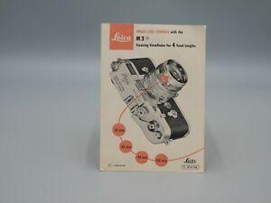 """Original 1958 """"LEICA M3"""" Camera Brochure"""