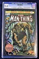 Man-Thing #1 CGC 9.4 White Pages 2nd appearance Howard the Duck
