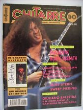 CHITARRE #80/1992 - MEGADETH - BLACK SABBATH