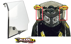 REV-XP LOW WINDSHIELD SIDE AIR DEFLECTOR KIT 860200498