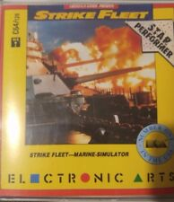 Strike Fleet (Lucasfilm, 1987)) Commodore C 64 (Diskette) (Game, Box, Manuals)