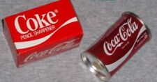 Vintage 1984 Coca Cola Coke Pencil Sharpener Can Logo Boxed New Mint FREESHIP