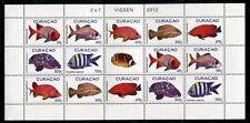 CURACAO 2012 Fische Fishes Poissons Pesci Kleinbogen ** MNH