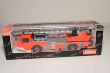 .! SCHUCO 07102 MAGIRUS DEUTZ FEUERWEHR FIRE TRUCK ORANGE MINT BOXED
