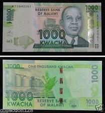 Malawi Paper Money 1000 Kwacha 2013 UNC