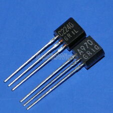 5x 2SA970-GR & 5x 2SC2240-GR Audio Low Noise Transistor, TOSHIBA, A970 C2240.