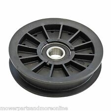 Flat Idler Pulley Exmark Quest. Hustler Fastrack & Mini Fastrack Mowers - 784827