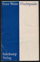 Peter Weiss: Fluchtpunkt (1962). Signierte Erstausgabe.