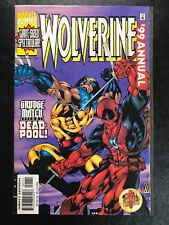 Wolverine '99 Annual (1999, Marvel Comics) Deadpool Grudge Match Cover VF/NM