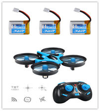 3xBattery JJRC H36 2.4Ghz 4CH Drone 6-Axis RC Quadcopter One Key Return Headless