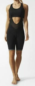 Adidas Women's High Performance Supernova Cycling Bib Shorts AZ7348 SZ L NWT