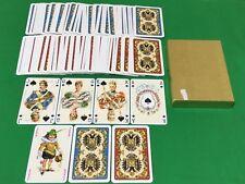 Twin Set PIATNIK Non Standard * KAISER JUBILAUM * Playing Cards Baraja Royalty