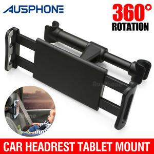 "Universal Car Seat Back Headrest Mount Holder for 4.4~11"" iPad Phone Tablet"