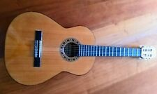More details for admira malaga classical guitar solid cedar top rosewood bridge mahogany body