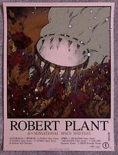 Sold Out Robert Plant Australia Tour Screen Print - Richey Beckett - NT Mondo