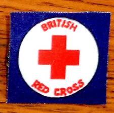 "Princess Diana Angola Red Cross Pin for Franklin Mint 16"" Vinyl Doll Handmade"