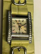 Working Ladies Silver Relic by Fossil Watch BE