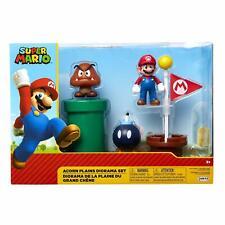 Super Mario Acorn Plains Diorama Playset BRAND NEW