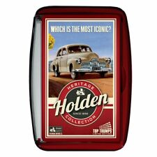 Top TRUMPS Holden Car Cars Iconic Heritage Collection Since 1956 - Card Game