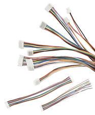 ✅ JST GH 1.25mm Stecker mit 150mm Kabel Micro Mini 2-10 Pin einzeln & beidseitig