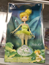 Disney Fairies 9'' TINKER BELL Doll Figure #67434 Disneystore Sealed