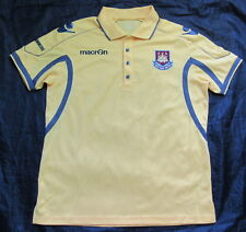 HAMMERS /WEST HAM UNITED polo shirt jersey Macron 2011-2012 /adult SIZE L/XL