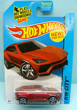 1929 HOT WHEELS / CARTE US / HW CITY 2013 / LAMBORGHINI URUS NEW 2015 1/64