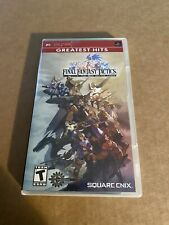 Final Fantasy Tactics: The War of the Lions (Sony PSP, 2007) Complete!