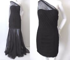 BARIANO One Shoulder Black Evening Dress Size 8 - 10 /US 4 - 6