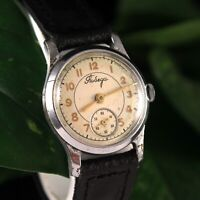 Vintage Early Pobeda Soviet Russian Military Mechanical USSR Wrist Watch