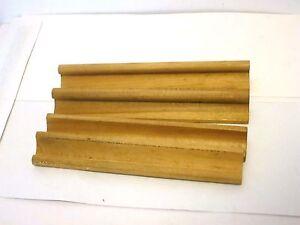 Wooden Scrabble Tile Racks -1989- Lot of 4 Replacement Parts #4024 Ages 8+