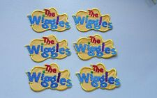 Embroidered WIGGLES LOGO MOTIF x 6