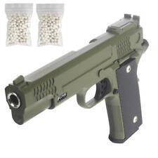 Softair Pistole Airsoft Gun Requisit FPS20 Voll Metall 500x 0,2g BB 6mm Grün