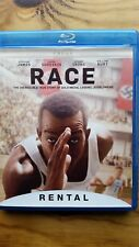 Race Blu ray RENTAL VERSION Former Rental Great Condition