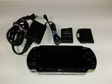 Sony PlayStation Portable - Black (PSP-1001) With Charger/ New Battery