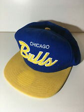 Mitchell and Ness Snapback Baseball Cap - Chicago Bulls - NBA - Blue - Yellow