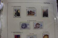 ESPAÑA AÑO COMPLETO 2001 ( SERIE DE SELLOS Y HOJAS BLOQUE) INTERESANTE