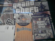 PS2 GAME GRAND THEFT AUTO SANANDREAS.