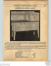 1936 PAPER AD 20 PG Kerogas Rabge Stove Gas Gasoline Oil Blue Flame Specs Prices