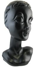 Mannequin Head Retro Punk Twiggy Jewelry Display Vintage Blythe Tattoo Milinery