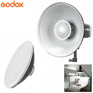 UK Godox 42cm Beauty Dish + Soft Light Cloth Bowens Mount For Studio Flash Light