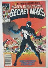 MARVEL SUPER HEROES SECRET WARS #8 NEWSSTAND VARIANT 1984 1ST BLACK COSTUME