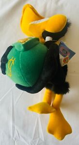 DAFFY DUCK Money Bag Looney Tunes Playgro Plush Soft Toy With Tags 1999 35cm