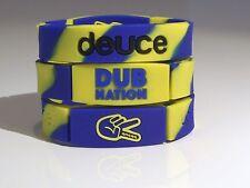 Golden State Warriors Deuce NBA Basketball  Dub Nation Wristband / Bracelet