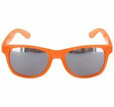 Brigada Eyewear Lawless Sunglasses - Orange Mirrored Lens UV 400 Protection