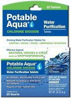 Potable Aqua Chlorine Dioxide Water Purification Tablets