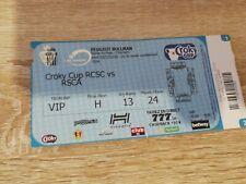 Ticket : Charleroi - Anderlecht coupe Belgique 2016